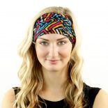 eighties neon headband bandana
