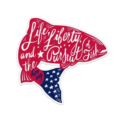 American Trout Sticker