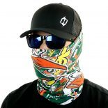 college football florida face mask bandana