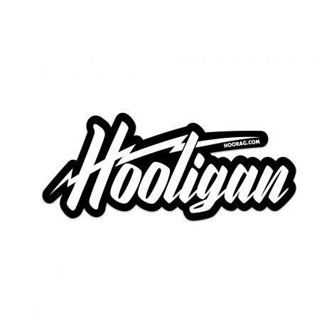 hoorag hooligan sticker