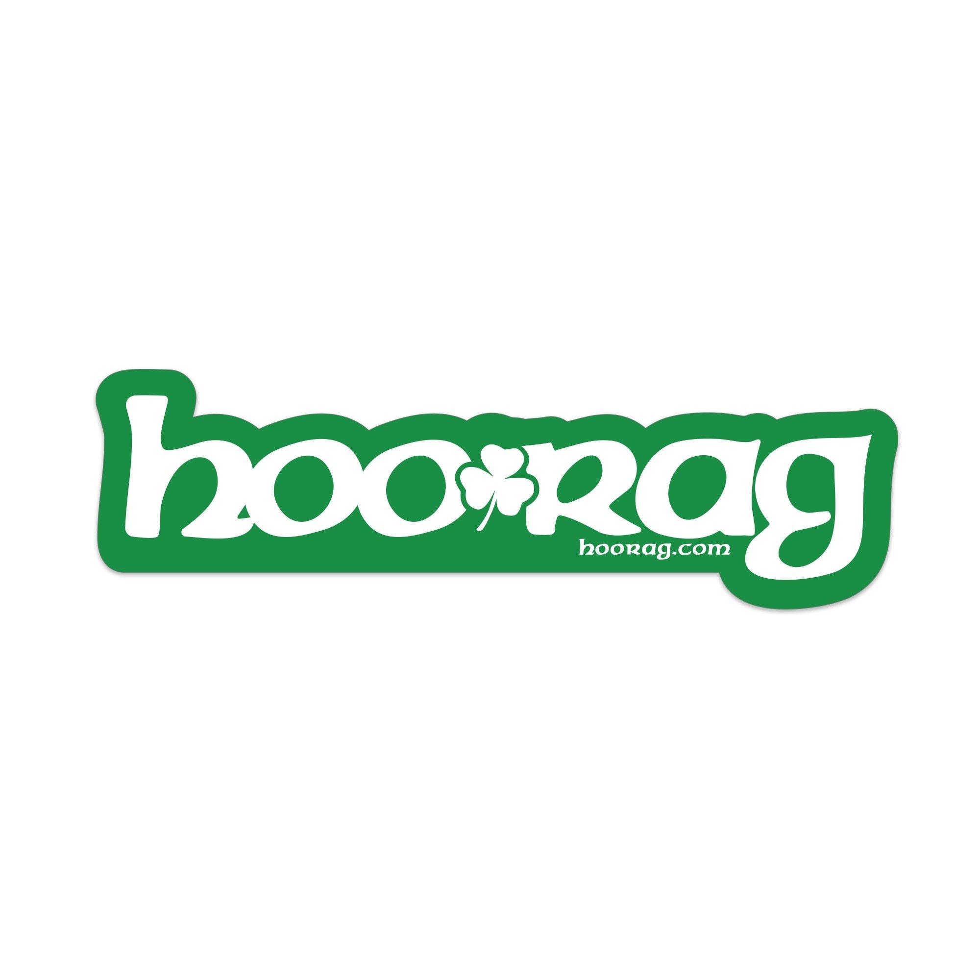 Hoo-rag's Luck of the Irish UV Sticker