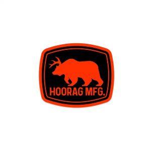 deer bear hoorag sticker