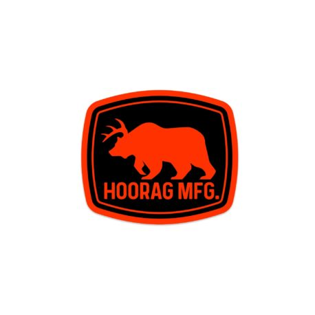 deer bear hoorag sticker
