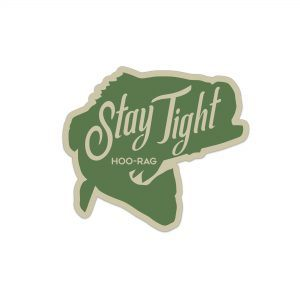 Stay Tight Bass Sticker
