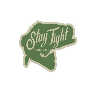 Stay Tight Bass Sticker