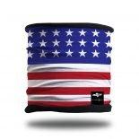 American Flag Neck Scarf and Winter Bandana from Hoo-rag