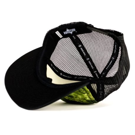 H85 bass fishing hat interior