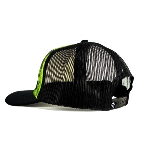 H85 bass fishing hat side profile