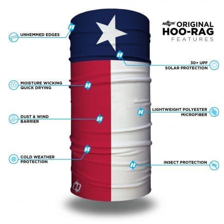 texas state flag face mask bandana