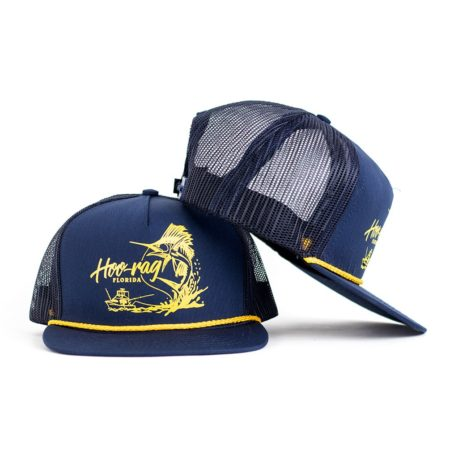 H90 Sailfish Snapback Trucker | Fishing Hats by Hoorag