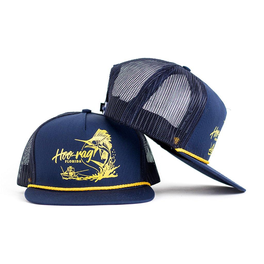Chasing sail snapback hat hoo rag for Fishing snapback hats