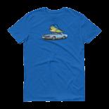 Dorado, Dolphin, Mahi Mahi Chevy Tshirt from Hoo-rag
