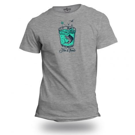Fin and Tonic Sailfish T-Shirt | Fishing Apparel by Hoo-rag just $19.99-20.99