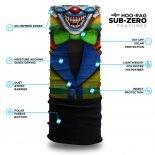 Colorful Clown Fleece Winter Bandana | Face Masks @ Hoo-rag
