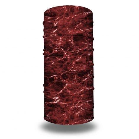 Elements Agua Crimson by Mossy Oak and Hoo-rag