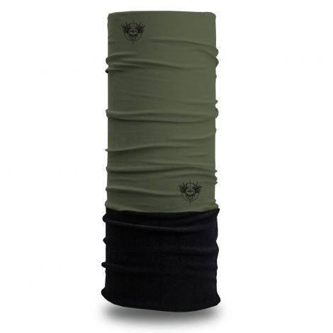 Tactical OD Green Fleece Winter Bandana | Face Masks @ Hoo-rag