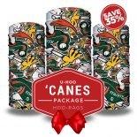 UM Hurricanes Bandana Package