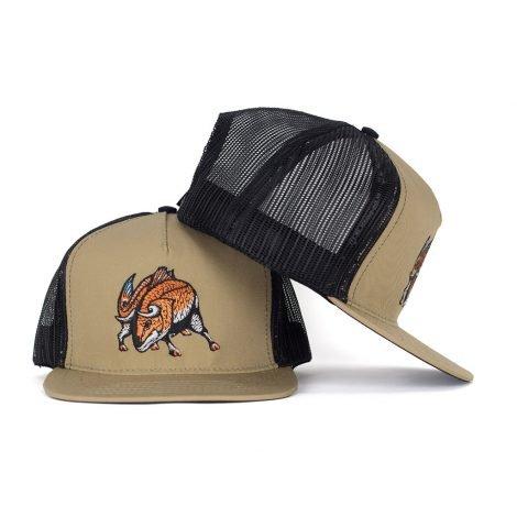 Redfish / El Toro Rojo Snapback Trucker Hat - Just 23.99 | Fishing Hats by Hoorag