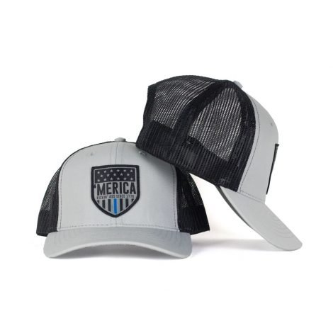 Thin Blue Line Snapback Trucker - Just 23.99 | Hats by Hoorag