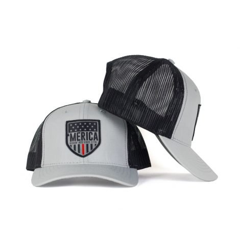 Thin Red Line Snapback Trucker - Just 23.99 | Hats by Hoorag