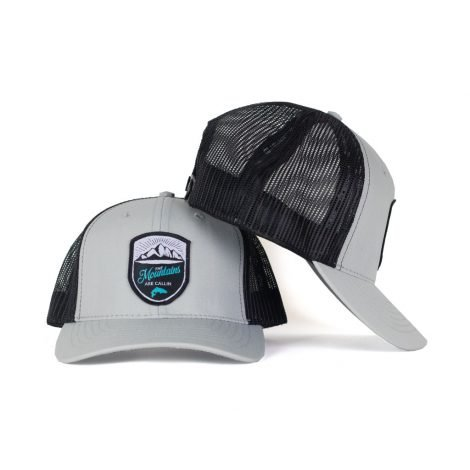 Mountains Are Calling Snapback Trucker - Just 23.99 | Fishing Hats by Hoorag