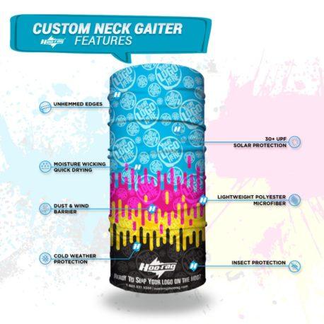 Sample Custom Neck Gaiter