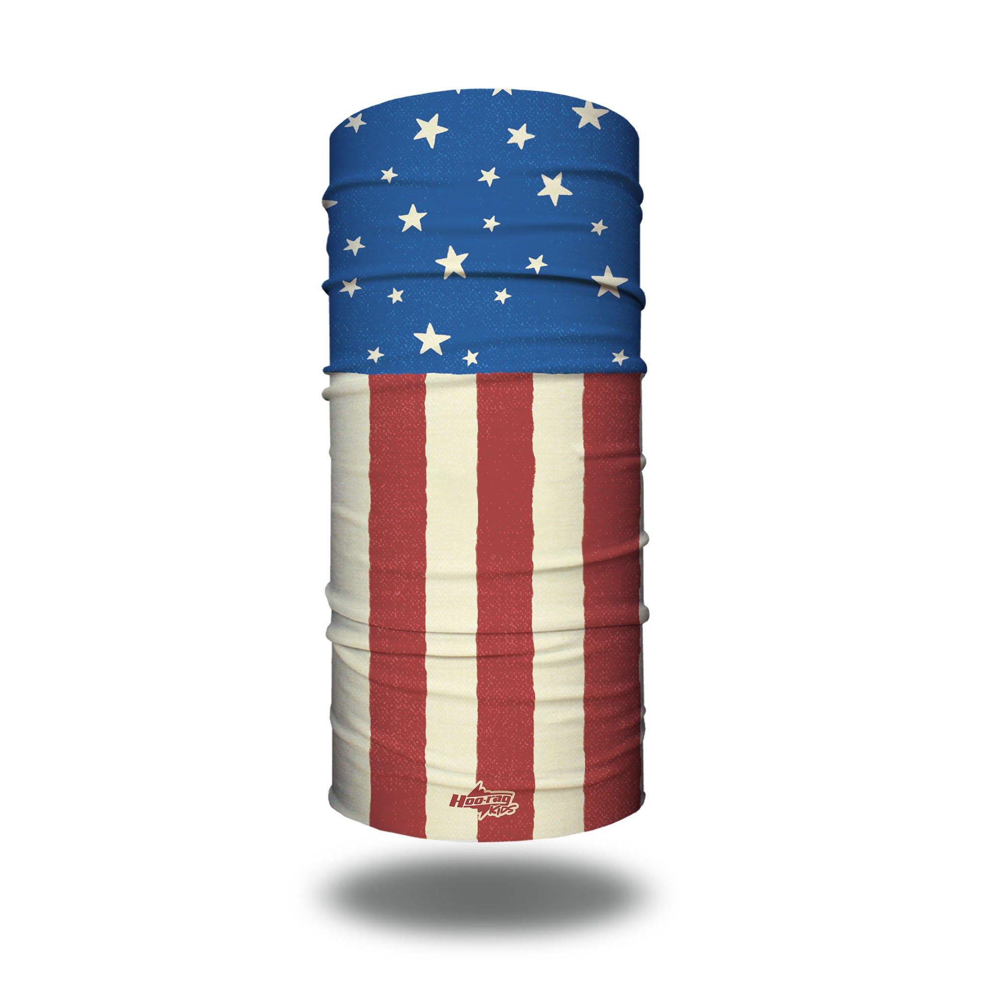 American Flag Face Mask | Children's Bandanas @ Hoo-rag