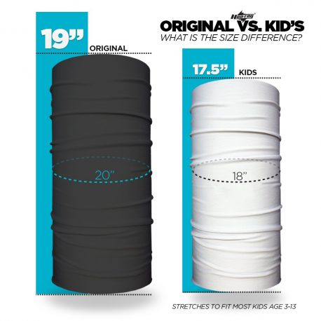 Difference Between Original Bandana and Kids Bandana