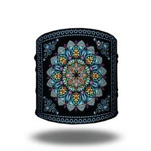 Mandala in Blue Yoga Headband | Bandanas by Hoo-rag just $9.95