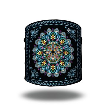 Mandala in Blue Yoga Headband | Bandanas by Hoo-rag just $9.95