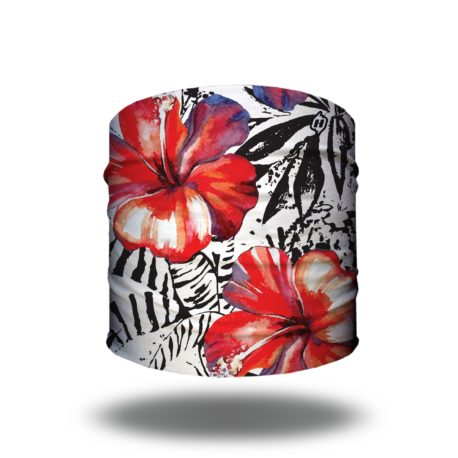 Tropical Hibiscus Yoga Headband | Bandanas by Hoo-rag just $9.95