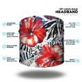 Tropical Hibiscus Yoga Headband | Bandanas by Hoo-rag just $9.95