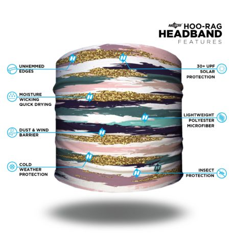 Patterned Yoga Headband | Bandanas by Hoo-rag, just $9.95