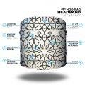 Black and White Patterned Yoga Headband | Bandanas by Hoo-rag, just $9.95