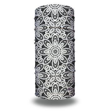 Black and White Lace Yoga Headband | Bandanas by Hoo-rag just $15.95