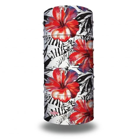 Tropical Hibiscus Yoga Headband | Bandanas by Hoo-rag just $15.95