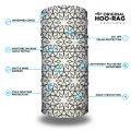 Black and White Patterned Yoga Headband | Bandanas by Hoo-rag, just $15.95