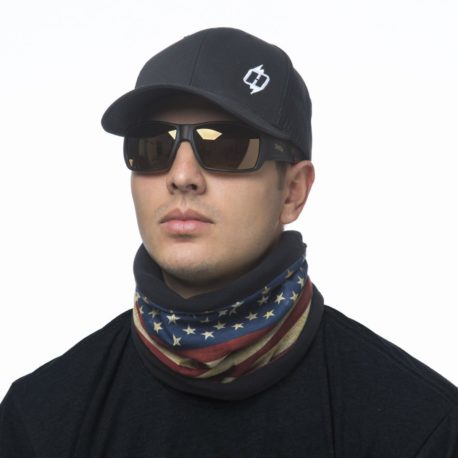 American Flag Fleece Lined Neck Gaiter Scarf | Wear it 4+ Ways, just $23.99