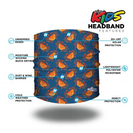 HHK07 Crabby Claws Kids Headband