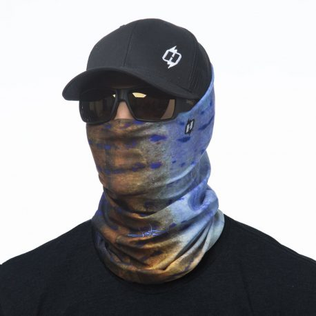 HFS20 sailfish reel photo face mask bandana