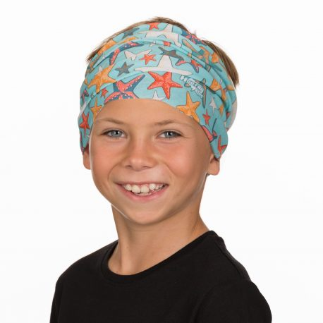 HHK10 starfish neck gaiter kids bandana
