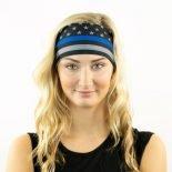 Thin Blue Line Running Yoga Headband and Bandana just 9.95 @ Hoo-rag