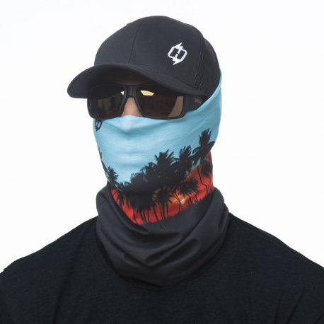 HRF42 surfer beach sunset face mask bandana