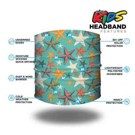 Starfish Kids Headband | Bandanas by Hoo-rag, just $5.95