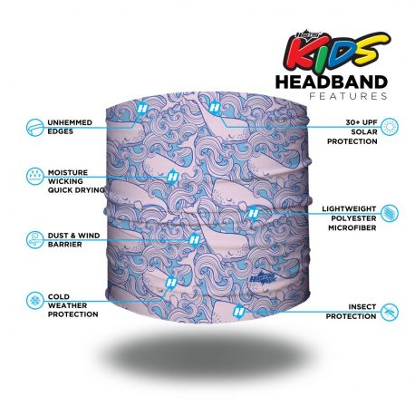 HHK01 Ocean Friends Kids Headband