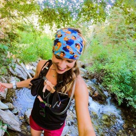 Rosie icon patterned Yoga Headband | Bandanas by Hoo-rag, just $9.95