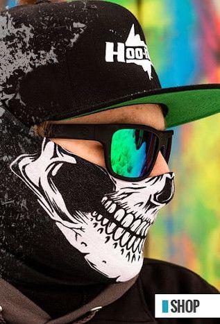 Hoo-Rag: Seamless Tubular Bandanas, Face Masks, Headbands & Hats