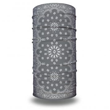 Gray Paisley Bandana by Hoo-rag | Just $15.95