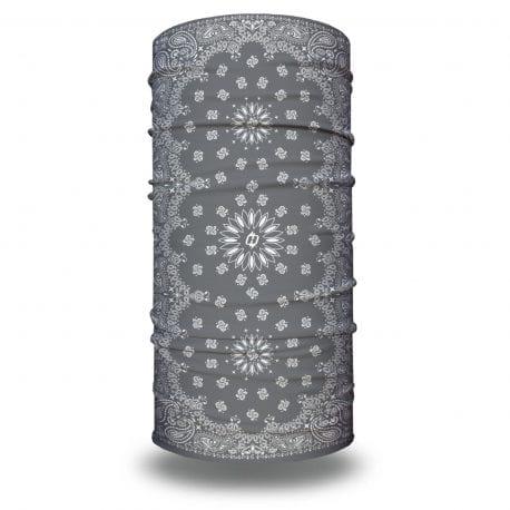 Gray Paisley Bandana by Hoo-rag | Just $15.95