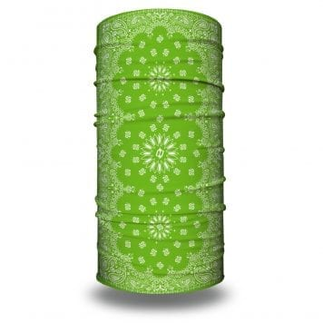 Lime Green Paisley Bandana by Hoo-rag | Just $15.95
